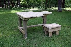 How To Make A Benchless Picnic Table by Built My Own Shooting Bench Pictures Page 8