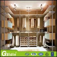 modular bedroom wall wardrobe design solid wooden frame wardrobe