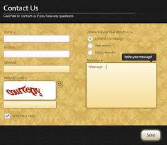 template creator u2022 creative contact form