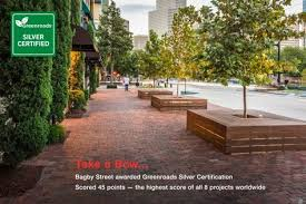 O Brien Landscaping by Bagby Street Walter P Moore Landscaping Pinterest