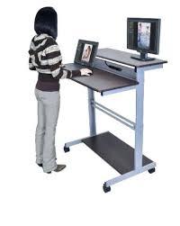 Computer Stands For Desks Computer Stands For Desks Adjustable Desk Riser Sit Stand