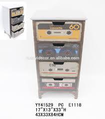 Metal Drawer Cabinets Old Radio Design Metal Cabinet With 4 Drawers Antique Metal Drawer