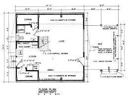 frame floor plan cabin house plans 66881