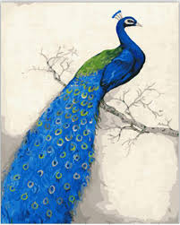Silk Peacock Home Decor Compare Prices On Peacock Painting Online Shopping Buy Low Price