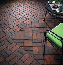 Basket Weave Brick Patio by Holland Stone Basketweave Pattern3 Outdoor Living By Belgard