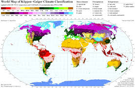 Atacama Desert Map World Map Of Köppen Geiger Climate Classification Maps On The