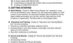 resume chronological order resume work history order short resume examples warehouse order