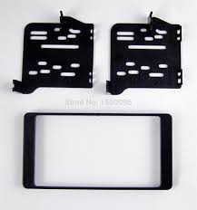 mitsubishi rvr 2015 black double din car radio fascia for mitsubishi asx rvr outlander sport