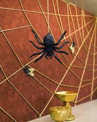 how to make a spider web for halloween string spiderweb martha stewart