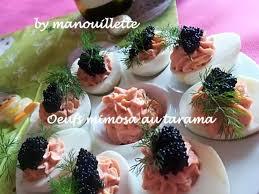 canapé tarama recettes de tarama