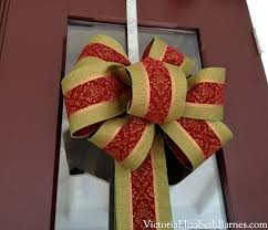 how to make a bow a step by step tutorial front door wreaths