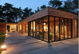 Modern House Wood Best Image Libraries