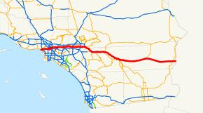 west covina ca map highway i 10 california exits summary