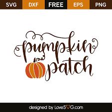 free pumpkin svg pumpkin patch lovesvg com