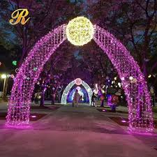 wedding arches with lights fairy light up arches for centerpieces wedding decoration buy