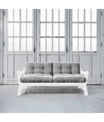 futon azur step blanc futon gris clair futon azur