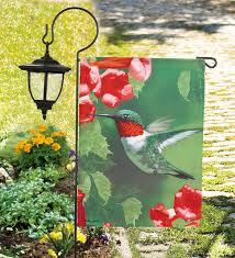 Hummingbird Garden Decor 95 Best Garden Flags Images On Pinterest Garden Flags