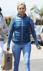 tolanda foster clothes foster in tights out in venice beach