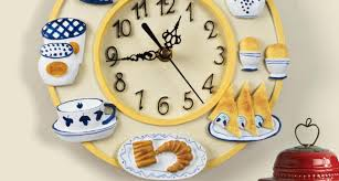 Office Wall Clocks Kitchen Great Kikkerland Retro Kitchen Wall Clock Black Cool