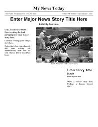 newspaper article template download free documents for pdf word