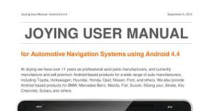 joying user manual pdf docdroid