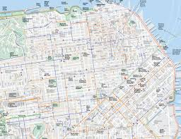 san francisco map of usa maps update 1200591 san francisco tourist map 17 toprated