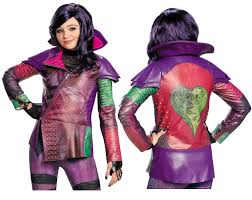 Halloween Costumes Girls Age 8 Nwt Disney Descendants Mal Halloween Costume Jacket Coat Girls