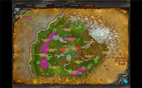World Of Warcraft Map by Rare Spawn Overlay Discontinued And Outdated Mods World Of