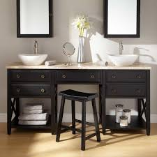 contemporary bathroom remodel with double sink vanity exotic