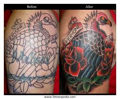 vulture feather tattoo 4