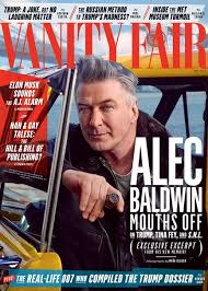 Plot Of Vanity Fair Cover Story Alec Baldwin Sounds Off Vanity Fair