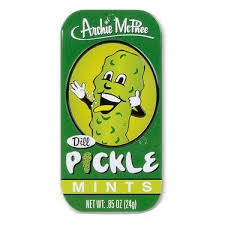 pickle candy pickle mints pickles flavored breath mint candy