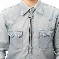 tie pendant necklace images Unisex cowboy star bolo tie shirt bola tie pendant necklace free jpg