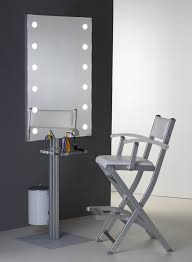 stand alone mirror with lights makeup wall mounted mirror with lights cantoni