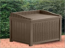 suncast deck boxes suncast rattan deck box costco