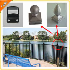 ornamental fence parts and aluminium tubular fencing buy