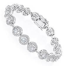diamond bracelet women images Designer jewelry 18k gold diamond bracelet for women 6ct by luxurman jpg