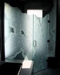 Satin Glass Shower Door by Frameless Shower Glass Doors Breathtaking Glass Shower Doors
