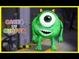 monsters inc 3d cake how to mike wazowski youtube