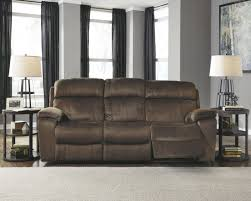 washington chocolate reclining sofa uhland chocolate power reclining sofa from ashley coleman furniture