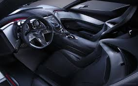 porsche concept interior chevrolet corvette stingray concept interior wallpaper hd car