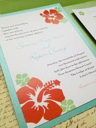 hawaiian themed wedding invitations hawaiian wedding invitations marialonghi