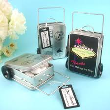 Suitcase Favors by Suitcase Favor Tins Set Of 12 Favor Pails Tins Its A