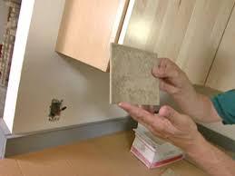 How To Install A Porcelain Tile Backsplash Howtos DIY - Porcelain backsplash