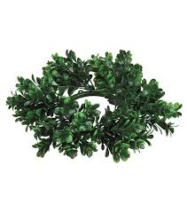 Candle Rings Boxwood Candle Ring 4 Green Joann