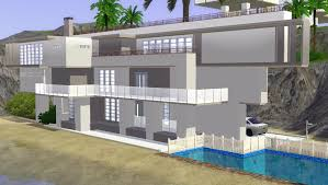 Modern House Blueprints by Bold Inspiration 9 Modern House Plans The Sims 3 Designs Homeca