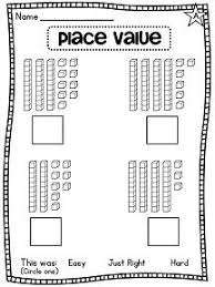 place value sheets 51 best math place value images on math activities