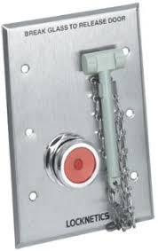 break glass door release 740 emergency break glass door release