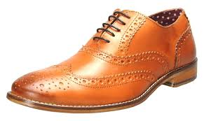 london brogues mens leather lace up wingtip formal gatsby evening