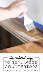 looking for a natural wood sealer mountainmodernlife com